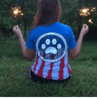 "Memes, American, and Home: Don't miss your chance to get our Americana tee before the Fourth of July is over! Order now at PawzShop.com 🐾 COMMENT ""your home state "" if you're proud to be an American or post where you're proud to be from!"