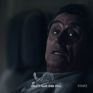 MRW I see Australia celebrating the New Year and it's only lunchtime on New Year's Eve in America: Don't rush into this.  STARZ MRW I see Australia celebrating the New Year and it's only lunchtime on New Year's Eve in America