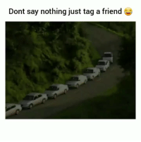 Be Like, Funny, and Traffic: Dont say nothing just tag a friend LA traffic be like😂💀💀