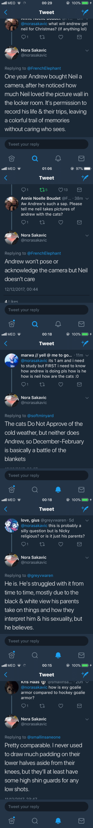 dont-say-stupid-things:  Nora Sakavic - Twitter Replies (12.12.2017) - Part I: dont-say-stupid-things:  Nora Sakavic - Twitter Replies (12.12.2017) - Part I