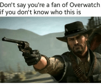 Dank, 🤖, and Overwatch: Don't say you're a fan of Overwatch  if you don't know who this is Well? Explain yourselves. ~Feeshbonez