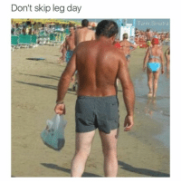 Don't skip leg day  Tank Sinatra What did this guy fall asleep in a hot tub for two years?