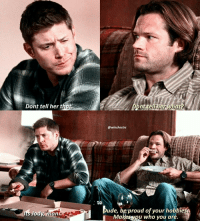 [12.06] Sam telling Dean to be proud of his Japanese porn fetish?😂😂 what even is this show 😂 . DAY 4: Jensen just ah. I love how he's a huge dork but is also very serious and generous, and sassy(jackie). He genuinely cares about people and hes just so warm and kind. Also hes amazing to the fans. Just last weekend I saw him in person and he was so sweet and kept calling me (and other fans) sweetheart etc and just made you feel so welcome. Hes very passionate about what he does and hes just a very inspiring person and we're so lucky to have him and Jared on this show that we love. Super proud to be his fan . . QOTD: whats one thing you love about jensen? . . . . supernatural spn spnfamily fandom cw destiel jensenackles jaredpadalecki mishacollins deanwinchester samwinchester castiel cas akf jodymills kimrhodes season12: Dont tell her t  Its Jody man  @winchestrs  ude, beproud of your hobbies  Makesveu who you are. [12.06] Sam telling Dean to be proud of his Japanese porn fetish?😂😂 what even is this show 😂 . DAY 4: Jensen just ah. I love how he's a huge dork but is also very serious and generous, and sassy(jackie). He genuinely cares about people and hes just so warm and kind. Also hes amazing to the fans. Just last weekend I saw him in person and he was so sweet and kept calling me (and other fans) sweetheart etc and just made you feel so welcome. Hes very passionate about what he does and hes just a very inspiring person and we're so lucky to have him and Jared on this show that we love. Super proud to be his fan . . QOTD: whats one thing you love about jensen? . . . . supernatural spn spnfamily fandom cw destiel jensenackles jaredpadalecki mishacollins deanwinchester samwinchester castiel cas akf jodymills kimrhodes season12