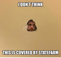 Aaron Rodgers, Memes, and The Game: DON'T THINK  THIS ISCOVERED BY STATEFARM Aaron Rodgers after the game...