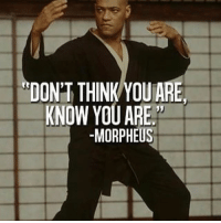 """I AM: """"DON'T THINK YOU ARE  KNOW YOU ARE  -MORPHEUS I AM"""