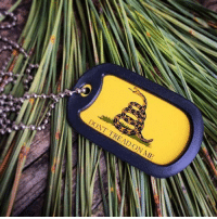 Is ANYTHING more American than the Yellow Gadsen, Don't Tread On Me Flag? This is what freedom is all about folks. -- Cold Dead Hands Don't Tread On Me Necklace: http://store.colddeadhands.us/products/dont-tread-on-me-necklace: DONT TREAD ON ME Is ANYTHING more American than the Yellow Gadsen, Don't Tread On Me Flag? This is what freedom is all about folks. -- Cold Dead Hands Don't Tread On Me Necklace: http://store.colddeadhands.us/products/dont-tread-on-me-necklace