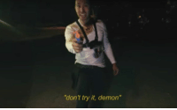"""Funny, Go to Sleep, and Lol: """"don't try it, demon"""" me: *is chilling and about to go to sleep at night* my brain: lol remember when you- me: https://t.co/x4EtPfJ8QF"""