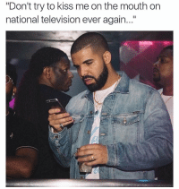 """Memes, Television, and 🤖: """"Don't try to kiss me on the mouth on  national television ever again..."""" 😂"""