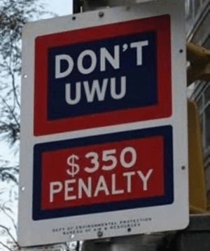 MeIRL,  Dont, and Uwu: DON'T  UWU  $350  PENALTY  i  AL PROTEC4 meirl