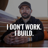 Family, Friends, and Life: DON'T WORK  BUILD  @TimKarsliyev Success is part of building not working. Yes it does take work to build... but most people are just working not building. . I build relationships, businesses, brands... just like someone would build a house. . Work = financing thing Building = owning them . Some of you might have to work to get there. I did ...and that's okay but don't lose focus from the big picture. . In one year I was able to build a lifestyle that allows me to live life on my own terms. Now I have time to spend with family & friends. Not including travel & all the fun stuff that comes from it. . You have a choice... sacrifice a little bit of time building or work for the rest of your life. . Founder of Daily Dose @timkarsliyev .