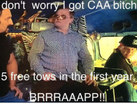 Thanks Paul Burnett! Do you have CAA? Get app Info: https://www.eastsidegames.com/tpbgame_hr/ #byfansforfans #itsallinthegame #greasymoney: don't worry got CAA bitch  5 free tows in the firstyear  BRRRAAAPPIM Thanks Paul Burnett! Do you have CAA? Get app Info: https://www.eastsidegames.com/tpbgame_hr/ #byfansforfans #itsallinthegame #greasymoney