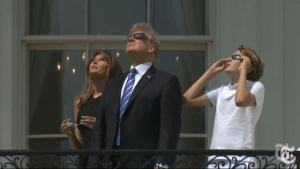 Tumblr, Blog, and Http: doomy: aledethanlast:  doomy: melania is going to go blind Not several seconds later…  barron evaporated