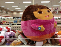 9gag, Memes, and Dora: Dora, it's time to stop exploring the kitchen. Follow @9gag 9gag dora exploring ball