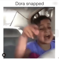 Memes, Dora, and 🤖: Dora snapped  0:58 Who can do it better? I'll wait