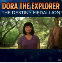 Destiny, Dora the Explorer, and Memes: DORA THE EXPLORER  THE DESTINY MEDALLION  CHT Playtime is over.