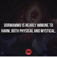 Memes, Mysticism, and 🤖: DORMAMMU IS NEARLY IMMUNE TO  HARM, BOTH PHYSICAL AND MYSTICAL