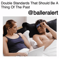 """Cheating, Dating, and Marriage: Double Standards That Should Be A  Thing Of The Past  @balleralert Double Standards That Should Be A Thing Of The Past-blogged by @peachkyss ⠀⠀⠀⠀⠀⠀⠀ ⠀⠀⠀⠀⠀⠀⠀ Double standards have been around for years and it's quite annoying at this point. Just about everything a man does, women should be able to do without judgment. Although double standards should be a thing of the past, it's not. ⠀⠀⠀⠀⠀⠀⠀ ⠀⠀⠀⠀⠀⠀⠀ There are quite a few standards that women are judged by and men aren't. Check out the double standards below in no particular order: ⠀⠀⠀⠀⠀⠀⠀ ⠀⠀⠀⠀⠀⠀⠀ Dating Multiple People- Before committing to a relationship, people like to date others to find the special one. For some reason, people like to compare dating to having sex. Just because a person is dating multiple people doesn't mean they are having sex. If a man dates multiple women, he's """"the man,"""" but as soon as a woman does it, she doesn't know what she wants or she's a jump off. Dating is just dating and nothing more. ⠀⠀⠀⠀⠀⠀⠀ ⠀⠀⠀⠀⠀⠀⠀ Cheating- Infidelity in a relationship is unacceptable period. But, when a man cheats, the woman in most cases tries to make things work. They want the relationship to work and will do whatever it takes to make it work. Now, if the roles are reversed, a man cannot handle it at all. Not only will he try to degrade you but he's going to leave and not look back. In their eyes, they can't handle another man doing the same thing he does with his girl. As if women want to imagine another woman f*ckin and suckin' on their man. ⠀⠀⠀⠀⠀⠀⠀ ⠀⠀⠀⠀⠀⠀⠀ Alpha Female- There are some men who do not want women to be in charge, whether it's in the bed, dating, or marriage. They prefer the woman to be more submissive. Nowadays, women are asking men out on dates and proposing. There are some women who are tired of waiting for the men to make a move. They want it when they want it. Is that wrong? ⠀⠀⠀⠀⠀⠀⠀ ⠀⠀⠀⠀⠀⠀⠀ Double standards should be a thing of the past, so stop passing judgme"""