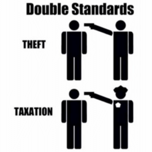 """Head, Im 14 & This Is Deep, and Gun: Double Standards  THEFT  TAXATION """"Taxation is just like holding a gun over your head!"""""""