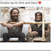 Desperate, Memes, and Truth: Double tap for Rick and Daryl Who wants more Rick-Daryl on their own episodes? . Follow @walkingdead_amc for daily twd updates 🆙, memes 🚀and cast 📸 . amcthewalkingdead thewalkingdead twdfamily walkingdead glennrhee maggiegreene laurencohan glaggie michonne carol carolpeletier daryl maggierhee truth real desperate chandlerriggs carlgrimes lucille negan glenn twdseason7 ripglenn twd twdcast ripabraham caryl