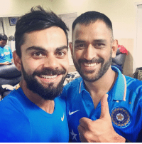 Double Tap for this Awesome Picture ❤️ Two Legends of Indian Cricket 🇮🇳 Amazing series win 🎆🎇 Diwali Gift to Nation 🎉🎊 ViratKohli MsDhoni Legends 🙌🏻: Double Tap for this Awesome Picture ❤️ Two Legends of Indian Cricket 🇮🇳 Amazing series win 🎆🎇 Diwali Gift to Nation 🎉🎊 ViratKohli MsDhoni Legends 🙌🏻