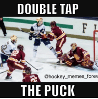 Comment your full name backwards!!!: DOUBLE TAP  @hockey memes forev  THE PUCK Comment your full name backwards!!!