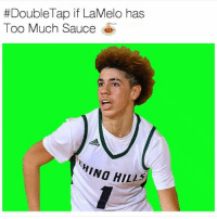 Memes, Too Much, and Game:  #Double Tap if LaMelo has  Too Much Sauce  HINO HIL17 LaMelo treatin these playoff games like it's streetball 😂😳 ⠀ VidCred: @ballervisions LameloBall Sauce