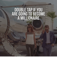 Memes, Fingering, and Cross: DOUBLE TAP IF YOU  ARE GOING TO BECOME  A MILLIONAIRE  @24 HOUR SUCCESS  tbo I keep my fingers crossed for you! 😃💸🔝 . 📷 belongs to respective owner 👌
