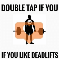 Who loves to deadlift? 💪 Via @powerliftingmotivation: DOUBLE TAP IF YOU  IF YOU LIKE DEADLIFTS Who loves to deadlift? 💪 Via @powerliftingmotivation