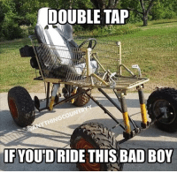 Heck yes!!! Drop a like if you'd ride!!: DOUBLE TAP  IF YOU'D RIDE THIS BAD BOY Heck yes!!! Drop a like if you'd ride!!