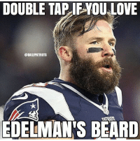 Yay or nay on the Edelbeard? 📸: @dailypatriots: DOUBLE TAP IFYOU LOVE  @DAILYPATRIOTS  EDELIMANS BEARD Yay or nay on the Edelbeard? 📸: @dailypatriots