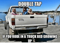 Who else has!? Drop a like!!: DOUBLE TAP  IFYOU RODE IN A TRUCK BED GROWING  UP Who else has!? Drop a like!!