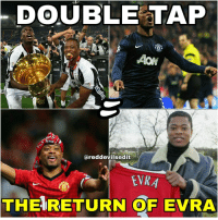 DOUBLE TAP IF YOU WANT TO SEE @patrice.evra back at oldtrafford: DOUBLE TAP  nfront  ared devilsedit  EVR  THE RETURN OF EVRA DOUBLE TAP IF YOU WANT TO SEE @patrice.evra back at oldtrafford