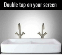 Double Tap On Your Screen
