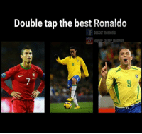 Which one? Comment 👇: Double tap the best Ronaldo  Soccer moments  O @y Soccer moments Which one? Comment 👇