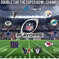 Comment below 😱💯👇: DOUBLE TAP THE SUPER BOWL CHAMPS!  Steelers  NFL  PLAYOFFS  RAIDERS Comment below 😱💯👇