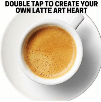 Smash that caffeine button!❤️☕️❤️ thirstythursday coffeeart coffeelife: DOUBLE TAP TO CREATE YOUR  OWN LATTE ART HEART Smash that caffeine button!❤️☕️❤️ thirstythursday coffeeart coffeelife