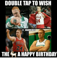Nba, Make A, and Making A: DOUBLE TAP TO WISH  NBA MEMES  THE MAHAPPY BIRTHDAY This should get 1 billion likes😂😂 Not a meme but can you really not make a post about the 🐐's bday??🤔 Really wish the NBA never would've forced him to retire bc he was too good but oh well 👀 Anyways double tap to wish Brian Scalabrine a happy 39th birthday and tag some friends below! 👍⬇