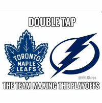 48afee3d0d7 Memes, 🤖, and Team: DOUBLE TAP vORONTO MAPLE LEAFS @NHLChirps THE TEAM