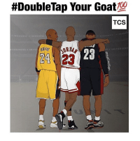 Anaconda, Memes, and Goat:  #Double Tap Your Goat  100  TCS  24 23 WHOS YOUR GOAT 🐐 - Follow (me) @crazyfilm for more 🔥