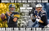 Let's go!: DOUBLE TAPIF YOU WILLWATCH THIS GAME  BEN  VS  BRADY  @Pro  Patriots  Memes  AND ROOT FOR THIS GUYTO WIN Let's go!