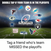 A lot of salty NFL fans this time of year: DOUBLE TAPIF YOUR TEAM IS IN THE PLAYOFFS  AM  Steelers  PLAYOFFS  NFL MEMES  RAIDERS  Tag a friend who's team  MISSED the playoffs A lot of salty NFL fans this time of year