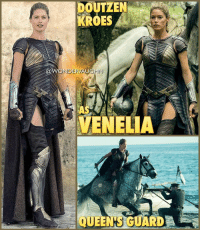 MEET THE AMAZONS: VENELIA Played by @doutzen A loyal and fierce Amazon warrior, Venelia is a member of Hippolyta's elite Queen's Guard. As an immortal protector, Venelia does not age. She remains the age she was when the Goddesses resurrected her from the Sea of Lost Souls thousands of years ago. Amazons however are not invulnerable and can be injured or killed by piercing weapons. * As an Amazon, Venelia possesses superhuman strength, speed, stamina, agility, reflexes and durability. She's also an expert in the use of any blade and an excellent markswoman. *** @gal_gadot mywonderwoman girlpower women femaleempowerment MulherMaravilha MujerMaravilla galgadot unitetheleague princessdiana dianaprince amazons amazonwarrior manofsteel thedarkknight doutzen doutzenkroes venelia queensguard supermodel dutch netherlands victoriassecret: DOUTZEN  KROES  @WONDER AU  AS  VENELLA MEET THE AMAZONS: VENELIA Played by @doutzen A loyal and fierce Amazon warrior, Venelia is a member of Hippolyta's elite Queen's Guard. As an immortal protector, Venelia does not age. She remains the age she was when the Goddesses resurrected her from the Sea of Lost Souls thousands of years ago. Amazons however are not invulnerable and can be injured or killed by piercing weapons. * As an Amazon, Venelia possesses superhuman strength, speed, stamina, agility, reflexes and durability. She's also an expert in the use of any blade and an excellent markswoman. *** @gal_gadot mywonderwoman girlpower women femaleempowerment MulherMaravilha MujerMaravilla galgadot unitetheleague princessdiana dianaprince amazons amazonwarrior manofsteel thedarkknight doutzen doutzenkroes venelia queensguard supermodel dutch netherlands victoriassecret
