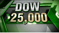Memes, News, and Breaking News: DOW  25,000 BREAKING NEWS: The Dow Jones Industrial Average just crossed 25K for the first time ever. If the Dow closes above 25,000 points Thursday, it will mark just 23 days since it closed above 24,000 for the first time. This would be the shortest stretch between 1,000 point milestones, ever. (Regram: @foxbusiness)