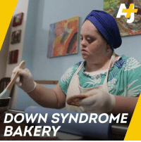 This bakery was created to employ young people with Down Syndrome.: DOWN SYNDROME  BAKERY This bakery was created to employ young people with Down Syndrome.