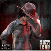 Dank, The Walking Dead, and App Store: Download on the  App Store  GET IT ON  Google Play  WALKING DEAD  NO MAN'S  LANT Get Carl on your team now in The Walking Dead: No Man's Land! Play the official mobile game of #TWD. http://getnomansland.com