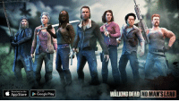 Dank, Google, and The Walking Dead: Download on the  Google Play  App Store  WALKING DEAD  NO MANS LAND Join your favorite characters on exclusive Season 7 Missions in The Walking Dead: No Man's Land. #TWD http://getnomansland.com