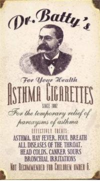 Memes, Ally, and Asthma: Dr. Batty  For  your allie  dFor the temporary rely  arorusms asthma  ALLDISEASES OF THE THROAT.  HEAD COLDS, CANKER SOURS  BRONCHIALIRRITATIONS