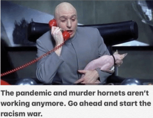 Dr. Evil up to no good again.: Dr. Evil up to no good again.