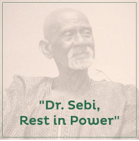 "Today we remember the passing of our beloved Dr. Sebi. And although the pain caused by his loss was indescribable, in carrying on with his work and his words, we find comfort. Remember that no one is really dead until the ripples they cause in the world die away. RIP, Dr. Sebi. Watch Dr. Sebi's commemorative video. Link in our bio.: ""Dr. Sebi,  Rest in Power"" Today we remember the passing of our beloved Dr. Sebi. And although the pain caused by his loss was indescribable, in carrying on with his work and his words, we find comfort. Remember that no one is really dead until the ripples they cause in the world die away. RIP, Dr. Sebi. Watch Dr. Sebi's commemorative video. Link in our bio."