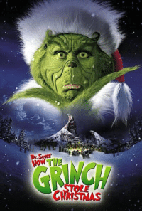 On this day 16 years ago, Dr. Seuss' How The Grinch Stole Christmas was released in theatres.: Dr Sever On this day 16 years ago, Dr. Seuss' How The Grinch Stole Christmas was released in theatres.